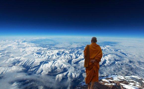 Монах, Буддизм, Медитация