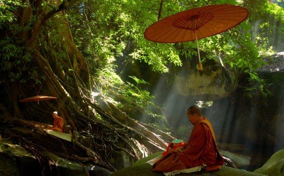 Буддийская медитация при