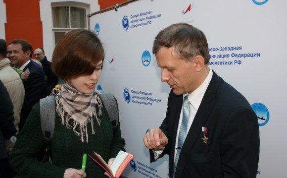 Космонавт Павел Виноградов: